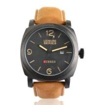 100 Meter Waterproof Military Watch - Black Dial