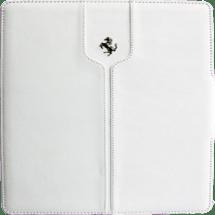 Montecarlo Collection Leather Flip Case | White