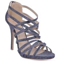 Criss Cross Sandals With Back Zipper | Grey