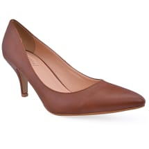 Souvenira Pointed Heels | Brown