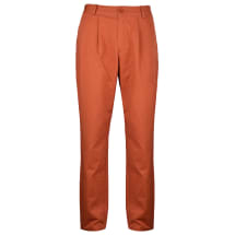 Yelz Straight Fit Chinos Trouser | Brick Red