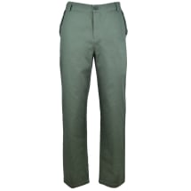 Leo Button Placket Design Chinos | Army Green