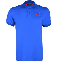 Classic Badge Polo | Royal Blue