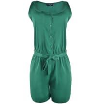 Marla Sleeveless Playsuit - Green