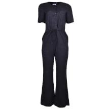 Short Sleeve Jumpsuit | Black