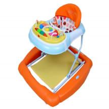2-In-1 Baby Walker - Orange