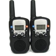 2 x New Auto Multi-Channels 5Km 2 Way Radios Walkie Talkie With Torch Light