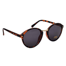 Brown Leopard Sunglasses