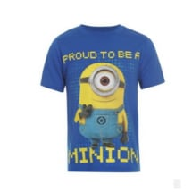 Character Minion Shirt - Blue