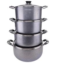 Luxuriant Non Stick Cookware Set | 8 Pcs