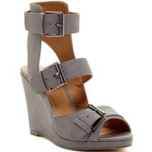 Adan Ladies Wedge - Grey