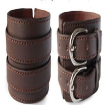Anchor Buckle Quality Leather Hand Bracelets