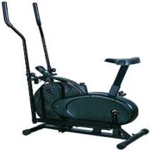 BODYFIT 2 Handle Orbit Track Bike With Seat