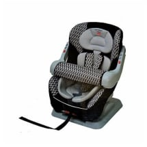 Baby Car Seat - 9 months to 4 years -Black & White