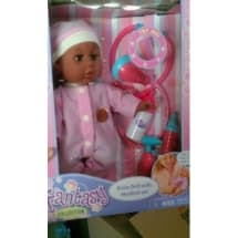 Baby Doll With Medical Set