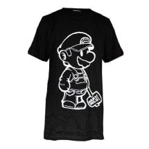 Baby Milo Print Designer Men's T-Shirt - Black