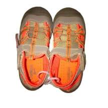 Boys Orange and Grey Sandals