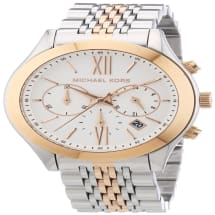 Brookton Two-Tone Stainless Steel Watch | MK5763