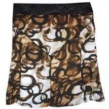 Brown Chiffon Skirt