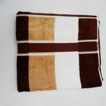 Brown Stripes Cotton Bath Sheet Towel