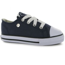 Canvas Low Infants Trainers  | Navy Blue