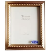 Certificate/ Photo/Document Frame  8x10 inches with Wall or Table mount - Gilt Scallop
