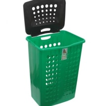 Classic Laundry Basket With Cover- Large