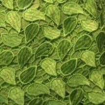 Diddel Fabrics Lime Green Petals Chord Lace