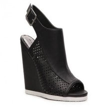 Dixon High Wedge Sandal | Black