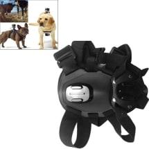 Dog Fetch Hound Harness Adjustable Chest Strap Belt Mount for Action Cam -GoPro Hero 4 -3+ 3