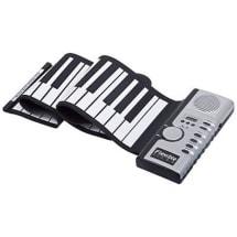 Flexible Portable Electric Digital Roll-Up Keyboard