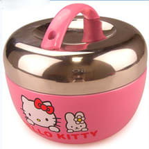 Hello Kitty Insulated Kids Stainless Steel Lunch Box