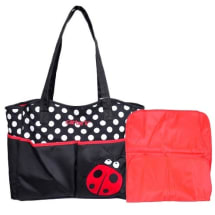 Ladybird Diaper Bag - Red