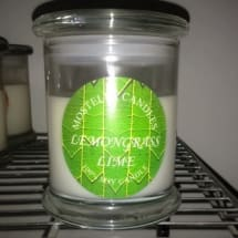 Lemongrass Lime Soy Scented Candles