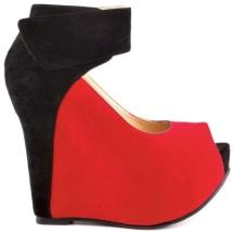 Maver Rick Block Wedge - Black & Red