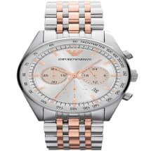 Men's Two Tone Tazio Chronograph Watch - Ar5999