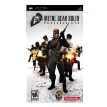 Metal Gear Solid Portable Ops - PSP