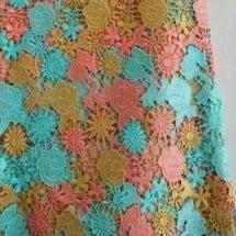 Multicolored Cord Lace