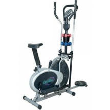 Orbitrac Bike With Dumbbells And Twister
