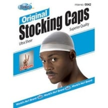 Original Stocking Caps - White - Pack of 2