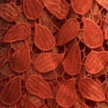 Petals Chord Lace   Orange