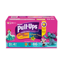 Pull-Ups Training Pants 3T-4T For Girls