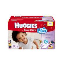 Snug & Dry Plus Diapers | Size 5