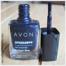 Speed Dry & Nail Enamel | Twilight Blue