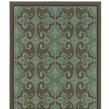 Sphinx By Oriental Weavers Montego Centre Rug  2.5FT×4.5FT- Brown & Blue