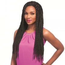 Synthetic Senegal Chic Twist Lace Front Wig Braids