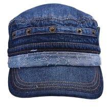 US Plain Jeans Military Cap
