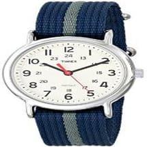 Unisex Canvass Watch - Blue