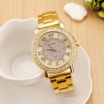 Women's Rhinestone Dress Watch