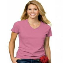 Women's Slim Fitted T-Shirt - Pink